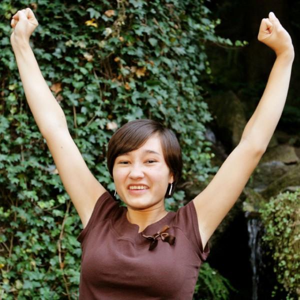 Woman-celebrating